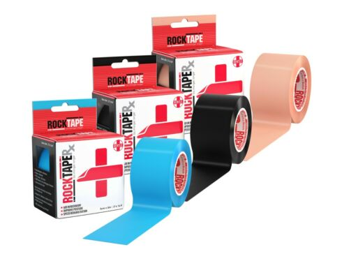 Rocktape® Brand Kinesiology Elastic Sport Tape Physio Running Fitness Injury Pre
