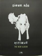 SIGUR ROS 2013 KVEIKUR promotional BIG poster ~NEW & MINT CONDITION~!!