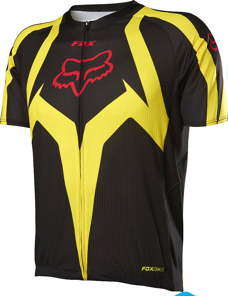 Fox Racing 2014 Livewire Race ss Jersey giallo