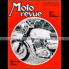 MOTO REVUE N°1951 SUZUKI T500 GILERA KAWASAKI H1 NORTON AJS 370 CROSS TRIAL 1969