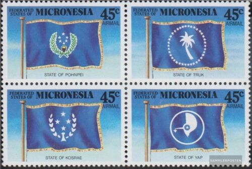 Mikronesien 119122 block of four complete.issue. unmounted mint never hinge