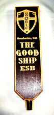 THE GOOD SHIP ESB Nobel Ale Works Craft Beer Tap Handle Anaheim, CA      Lot #19