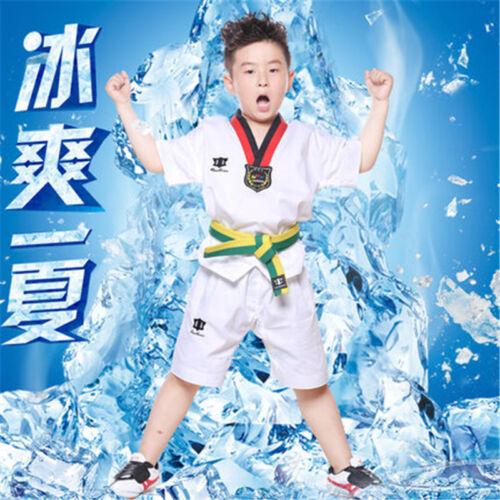 ITF WTF Taekwondo TKD Martial Art Suit Uniform Dobok Costume Set for Kids/&Adults