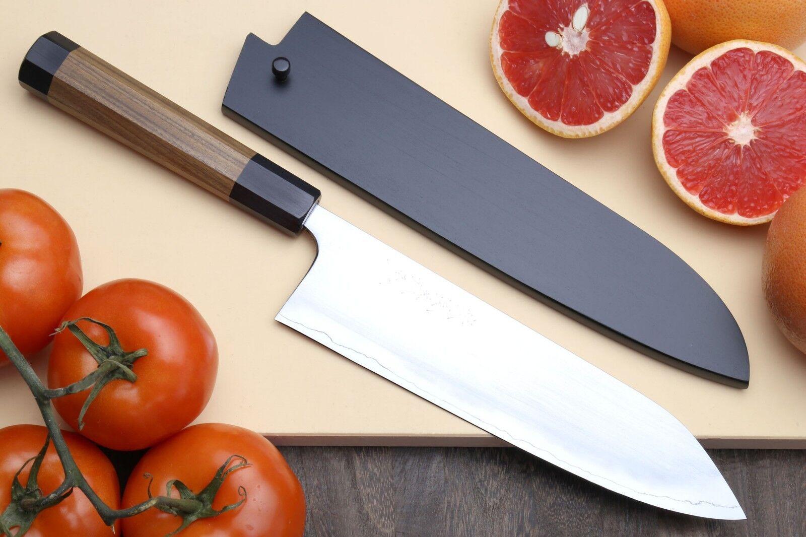Yoshihiro High Performance SLD Masashi Series Gyuto Chef Knife w  Shitan Handle