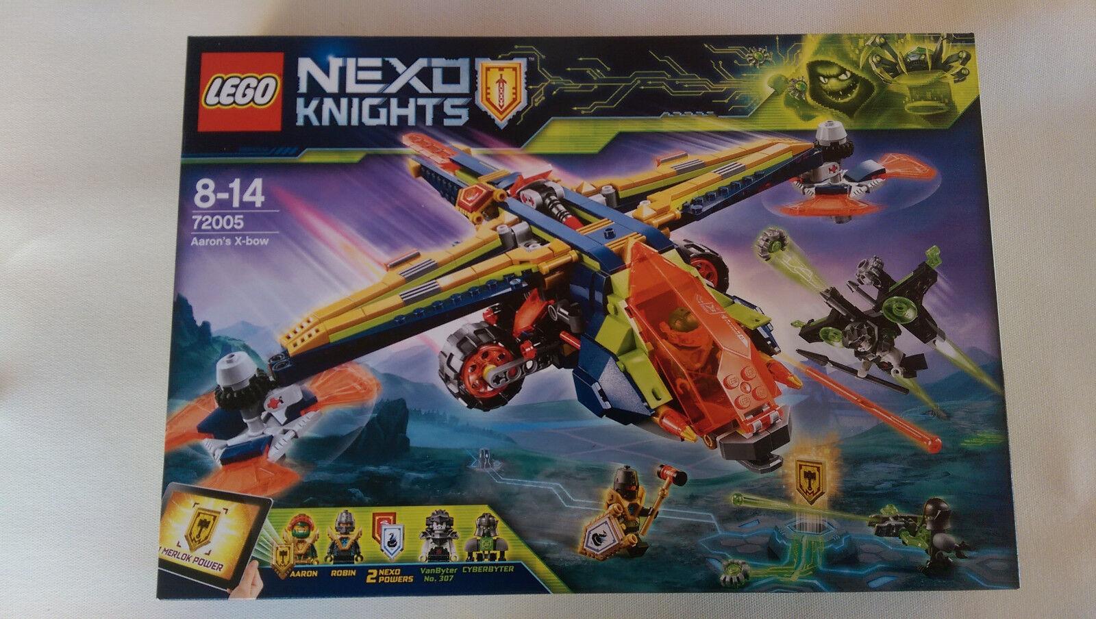 Lego Nexo Knights - 72005 - L'avion-arbalète d'Aaron - Boite neuve et Scellée