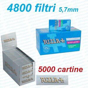 5000-Cartine-SILVER-CORTE-4800-Filtri-ULTRASLIM-5-7mm-RIZLA