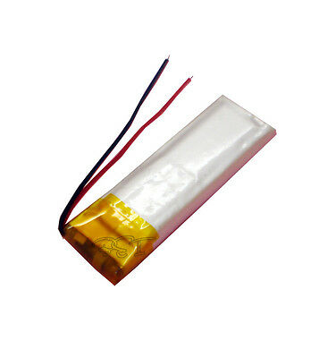 3.7V 220 mAh Li-polymer Rechargeable Battery  501240 for PDA/bluetooth/mp3/mp4