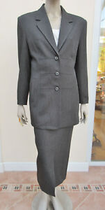 Gonna Grey 16 Womens Style Midi giacca taglia Star Dark Bnwt YqfW1C