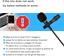 PoP Voice 12.8 Feet Lavalier Lapel Microphone Professional Grade Omnidirectional
