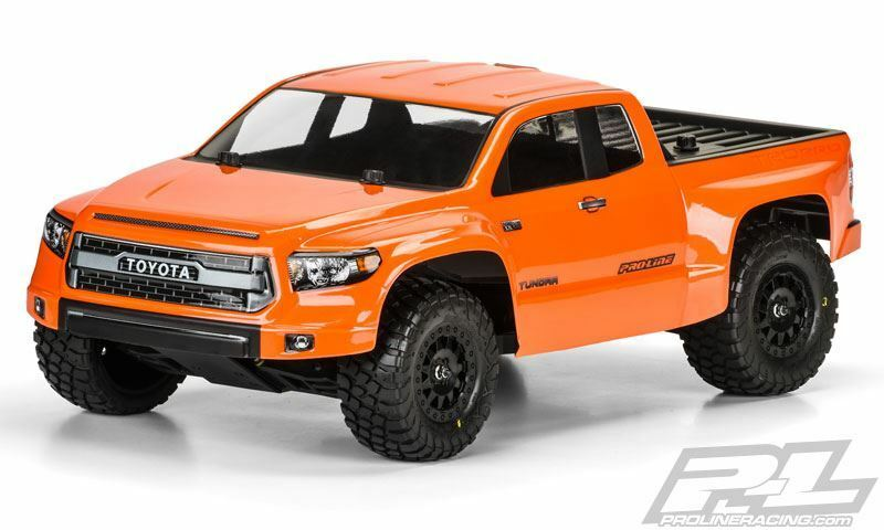 Proline Toyota Tundra TRD Pro True Scale Clear Body, Slash, Slash 4x4, Pro-2 SC.