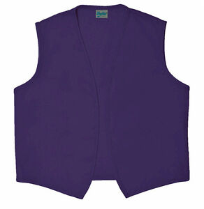 Daystar-740NP-No-Pocket-Purple-Vest-for-Aladdin-or-Dr-Who-Costume-Made-in-USA