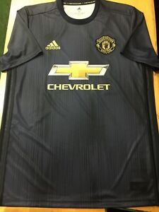 reputable site 8bbd8 9df6c Details about adidas manchester united Parley Limited Eddition Soccer  Jersey Size Small ONLY