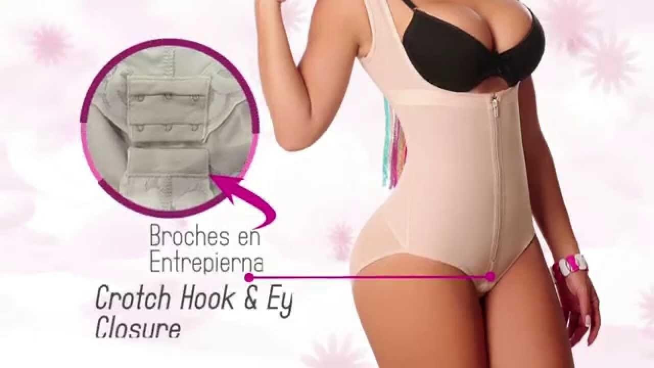 Liposuction Garment , Fajas Colombianas, Post-Surgery, Body Cubre Espalda Panty