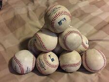 Official Rawlings MLB Game Used Mudded Baseballs REAL MLB GAME PLAYED Rare!!