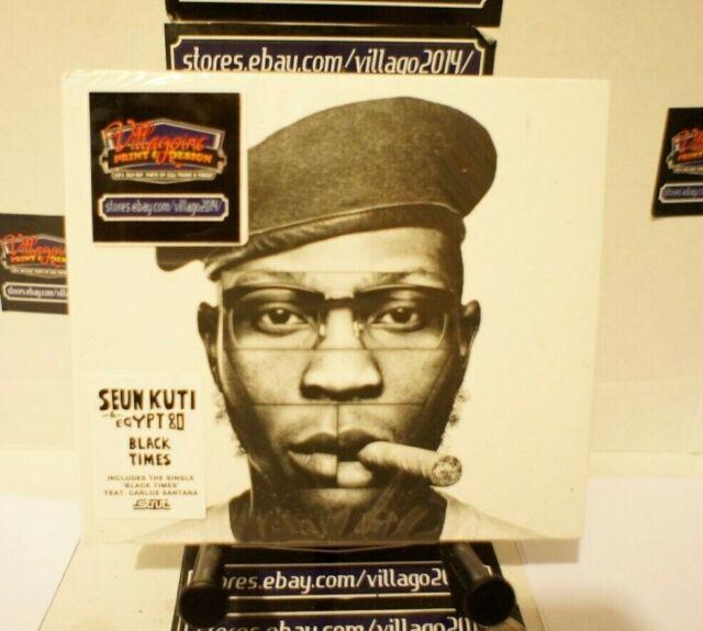 Seun Kuti & Egypt 80 - Black Times  NEW CD FREE SHIPPING!!!