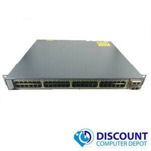 Cisco-WS-C3750E-48TD-Catalyst-3750-48-Port-Gigabit-Ethernet-Network-Switch