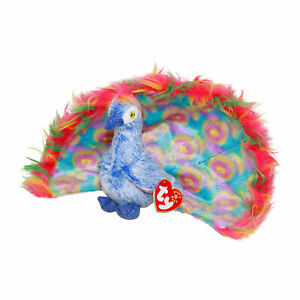 1f1361092a3 Image is loading Ty-Beanie-Baby-Flashy-MWMT-Peacock-2000