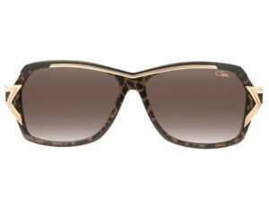 9fc1b36b094 Cazal 8031 Sunglasses Women s Color 002 Brown Gold Authentic Brand ...