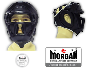 BOXING MORGAN HEAD GUARD ABX PLASTIC GRILL FACE CHIN CHEEK ANBF WEAPONS SPARRING