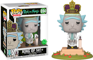 Rick-amp-Morty-King-of-Shit-with-Sound-Funko-Pop-Vinyl-New-in-Box
