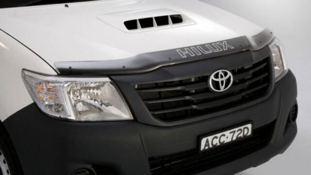 Genuine Toyota Hilux Tinted Bonnet Protector (July 2011 - Aug 2015)