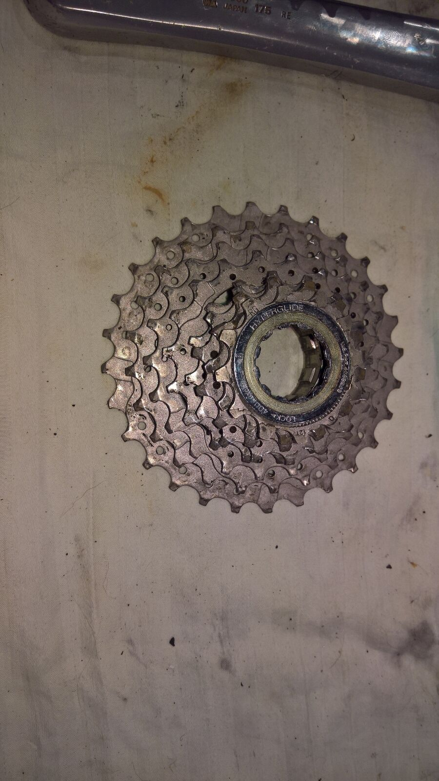 Shimano m900 12-28 tooth cassette