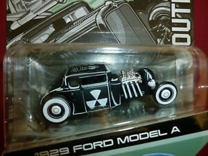 FORD-MODEL-A-1929-29-OUTLAWS-MAX-GRUNDY-DIE-CAST-1-64-MAISTO-DESIGN