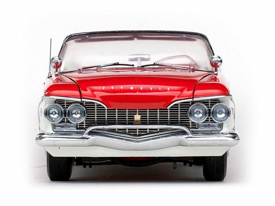 1960 Plymouth Plymouth Plymouth Fury Valient Red 1 18 SunStar 5402 4ac297