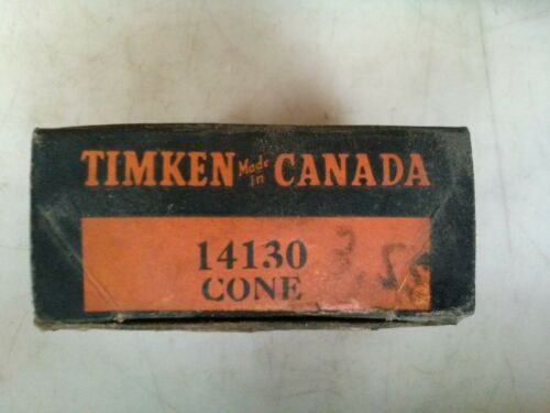 Timken 14130 bearing cone made in USA Canada