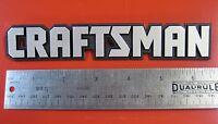 Craftsman Tool Box Badge:6 5/8,chest/cabinet/toolbox Emblem,decal,sticker,logo