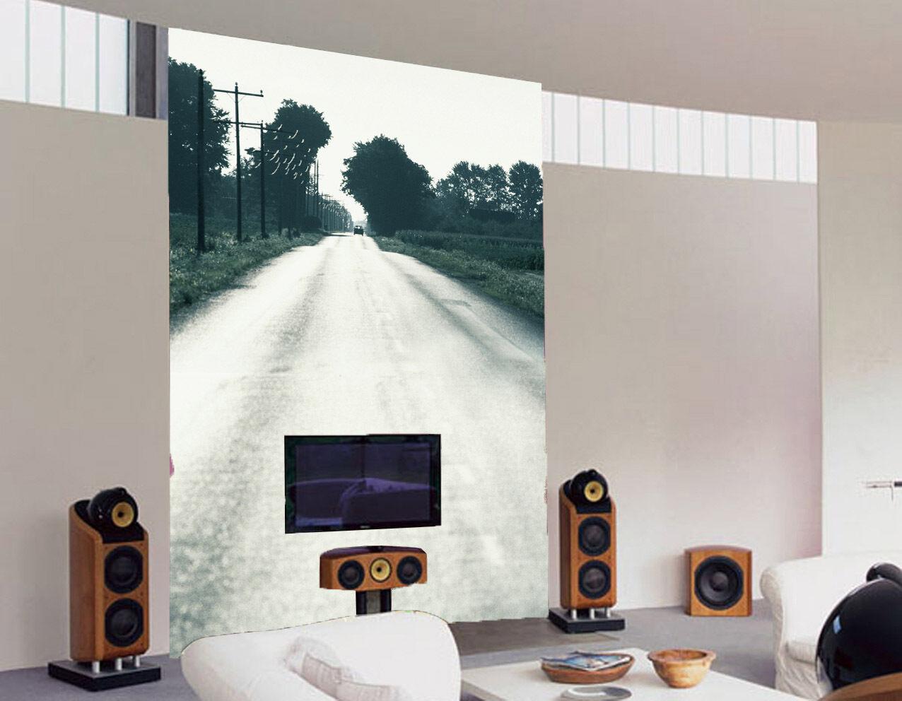 3D Route Paysage 97 Photo Papier Peint en Autocollant Murale Plafond Chambre Art