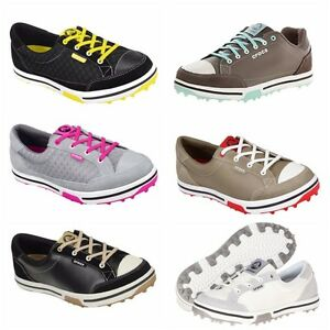 68f5701dccee95 Image is loading Crocs-Tour-Ladies-Womans-Spikeless-Golf-Shoes-WaterProof-