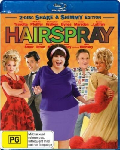 1 of 1 - John Waters' Hairspray Shake & Shimmy Edition RB 2xBlu-Rays As New Free Postage
