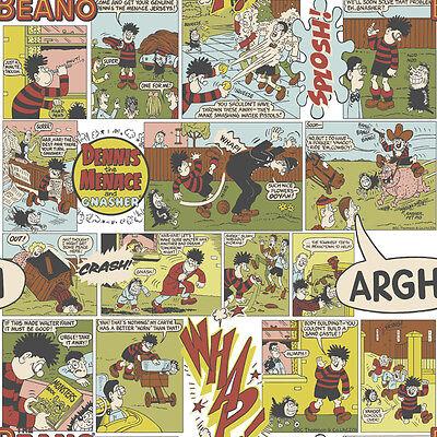 BEANO DENNIS THE MENACE COMIC BOOK MURIVA FEATURE DESIGNER WALLPAPER 102530
