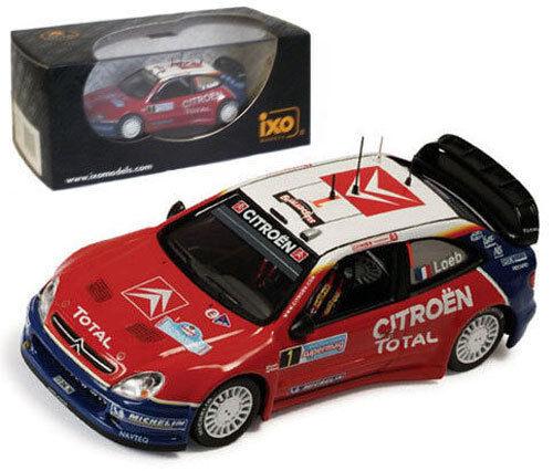 IXO RAM191 Citroen Xsara WRC Italian Rally 2005 - S Loeb 1 43 Scale