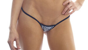 8d2a2f50706 BodyZone Apparel Lace Print Tiny Low Back Tee Thong Panties. Made in ...