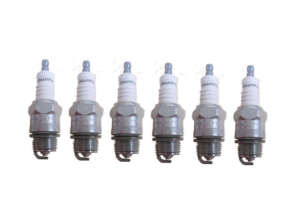 Champion 549 D18Y Medium Industrial Spark Plug Pack of 6