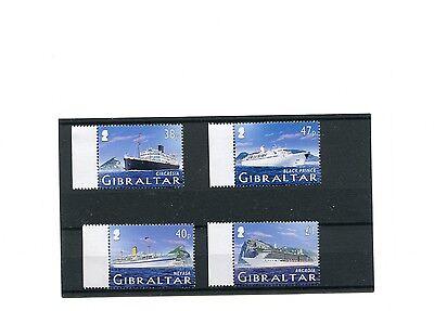 Europe Stamps Trend Mark Gibilterra 2005 Navi Da Crociera 1 Serie 1145-8 Mhn