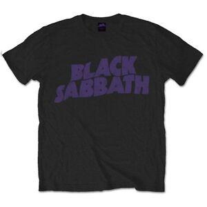 Black-Sabbath-Wavy-Logo-Official-Merchandise-T-Shirt-M-L-XL-Neu