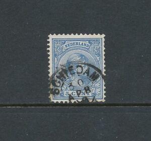 1891, nr. 35 klein rondstempel Schiedam