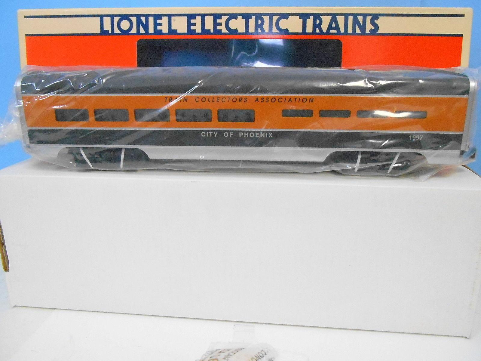 Lionel 6-52106 tca - o - stadt phoenix aluminium - speisewagen.