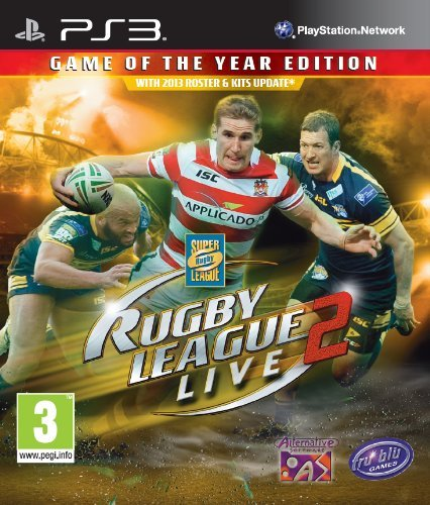 Rugby League Live 2 [Game Of The Year E. GAME NEW