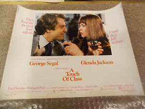 A-TOUCH-OF-CLASS-1973-GEORGE-SEGAL-ORIGINAL-1-2-SHEET-POSTER-22-034-BY28-034