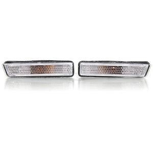 Seitenblinker Set Satz BMW 3er E36 Bj. 96-99 X5 E53 Bj. 99-06 weiß chrom