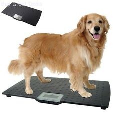 Large Digital Electronic Scale Veterinary Animal Weight Pet Dog Cat Redmon Weigh
