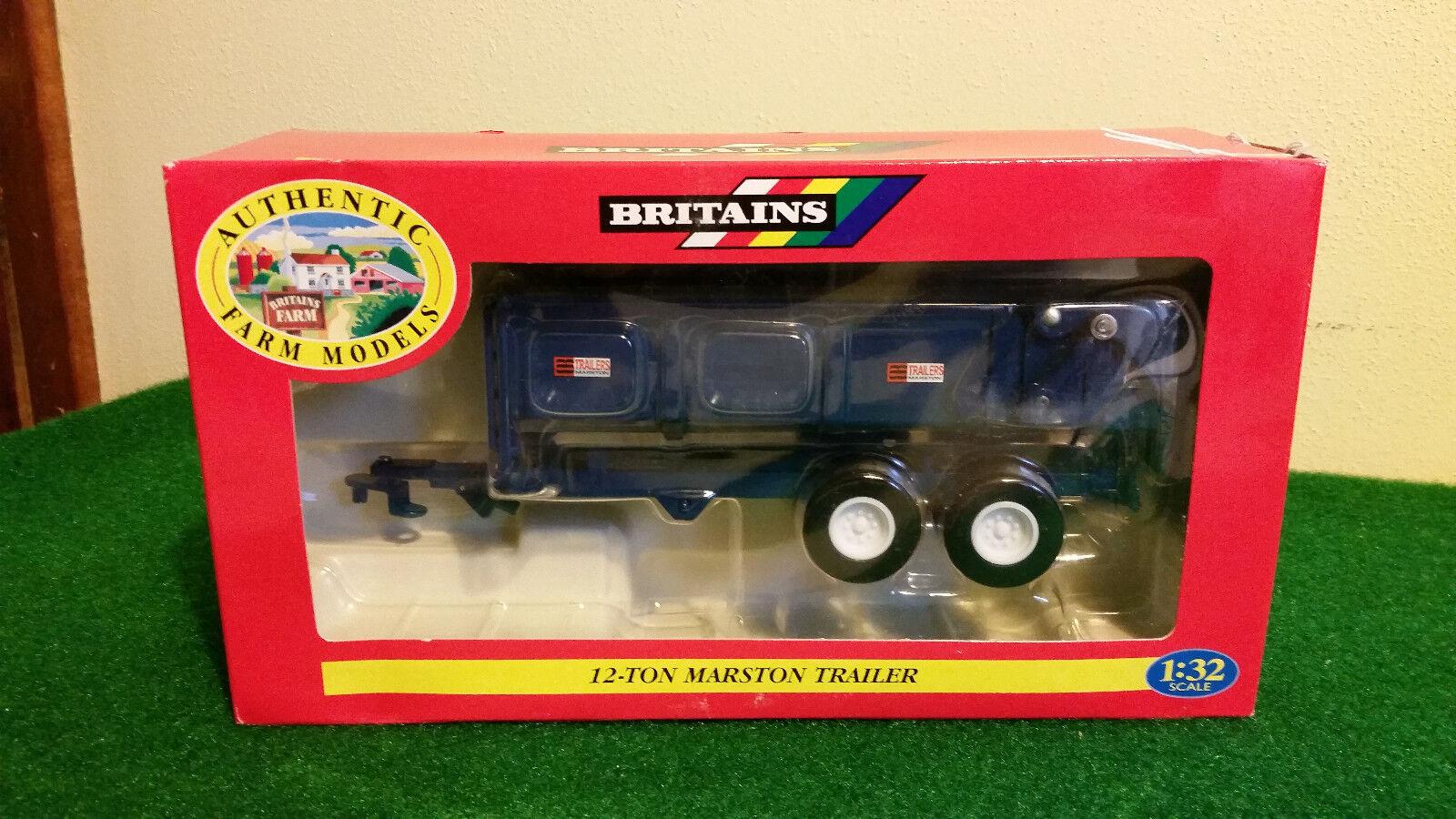 bluee 12-Ton 12-Ton 12-Ton Marston Trailer By Britains 1 32nd Scale f291c6