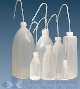 Spritzflasche-PE-Plastik-rund-50-2000-ml-Laborflasche-Kueche-Kunststoff