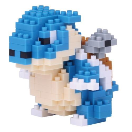 Blastoise Pokemon Nanoblock Micro Sized Building Block Construction NBPM019