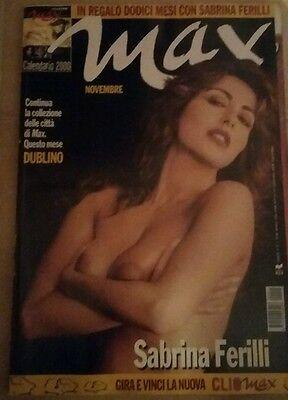 Sabrina Ferilli Calendario.Rivista Max Novembre 1999 Copertina Sabrina Ferilli Ebay