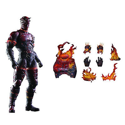METAL GEAR SOLID V : MAN ON FIRE FIGURE MADE BY SQUARE ENIX. PLAY ARTS. (TK)